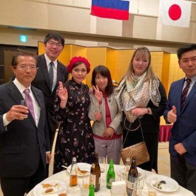 ロシア協会の新年会